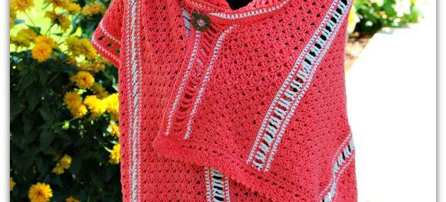 Amazing Grace Summer Shawl… New Free Crochet Pattern!!