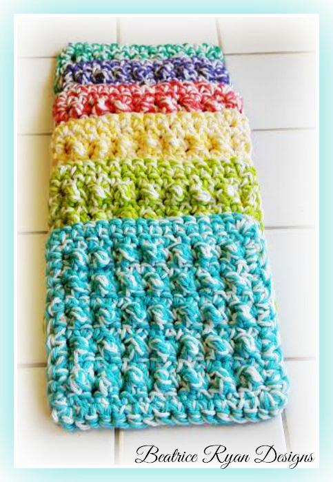 Thick & Quick Bumpy Scrubby ~ Free Crochet Pattern