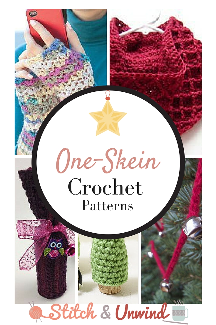 Do You Need A One Skein Crochet Christmas Project