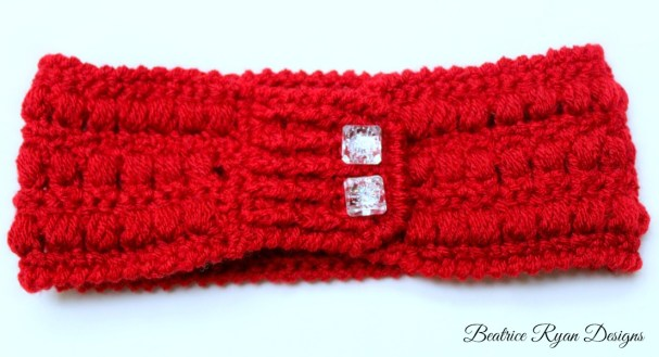 Whimsical Warmth Headband Version II buttons