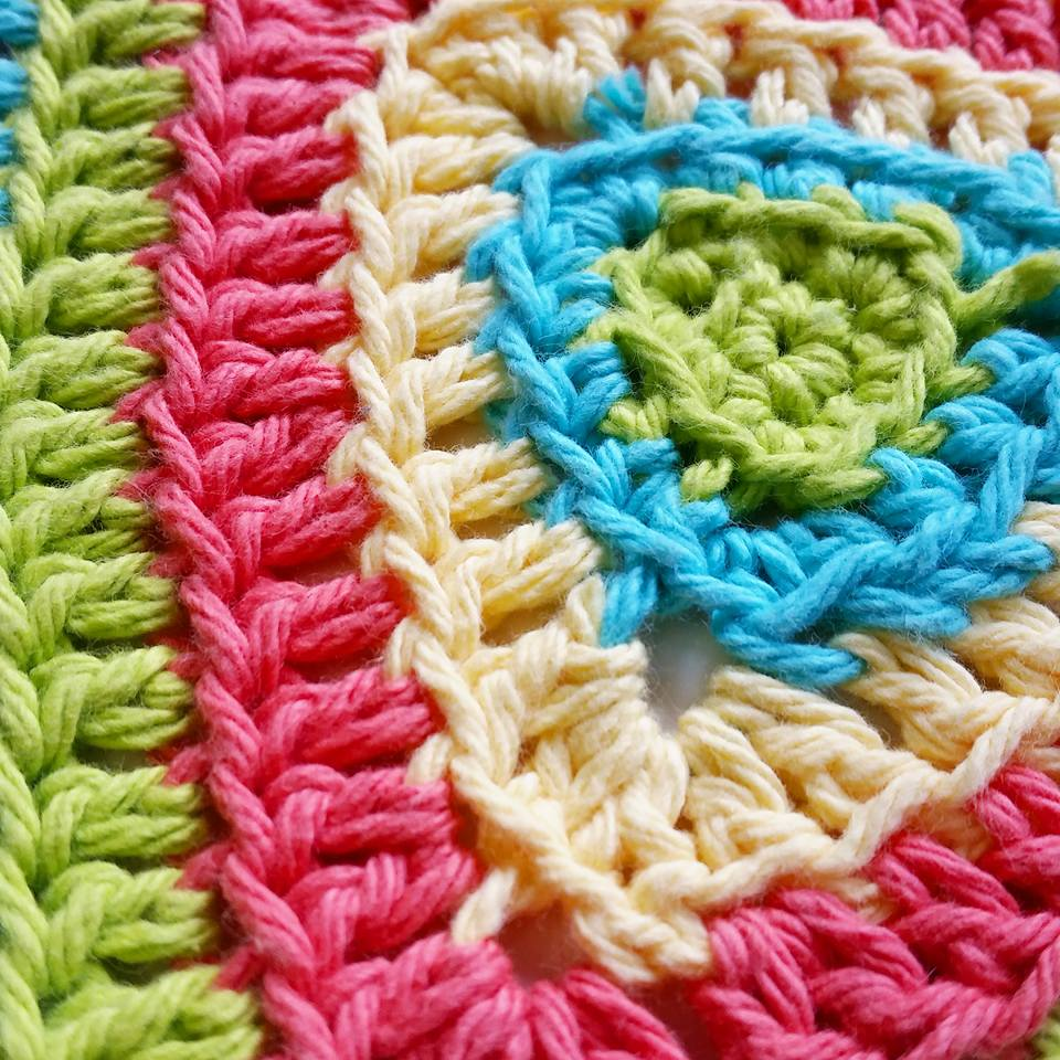 Totally Free Crochet Pattern Blog : Totally Triangle Dishcloth? Free Crochet Pattern!