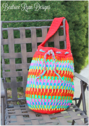 Rainbow Dash Tote Bag.. Free Pattern