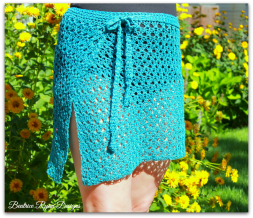 Amazing Grace Bathing Suit Wrap... Free Crochet Pattern!!