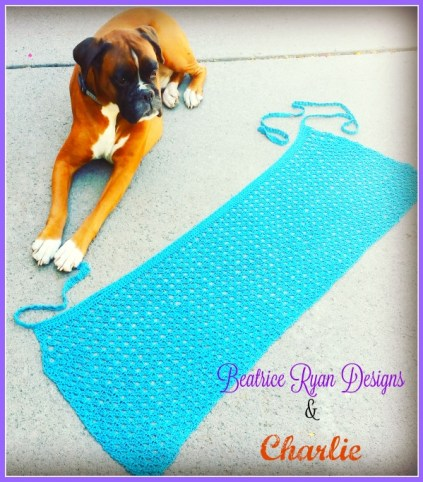 Charllie and Amazing Grace Bathing Suit Wrap