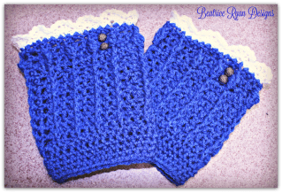 Denim Diva Boot Cuff's... Free Crochet Pattern!!