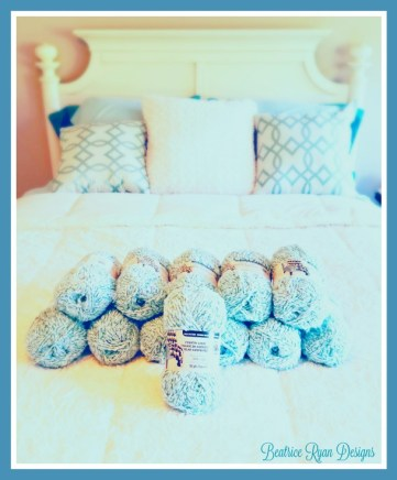 Touch Of Teal Afghan Free Crochet Pattern