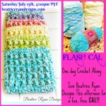 FLASH CAL… Today's Fun Crochet Along!!