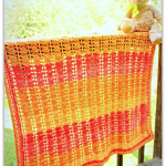 Sweet Sunset Baby Blanket… Free Crochet Pattern!