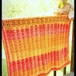 Sweet Sunset Baby Blanket… Free Crochet Pattern!