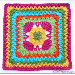 Ziggidy Zag Summer Square… New Free Crochet Pattern