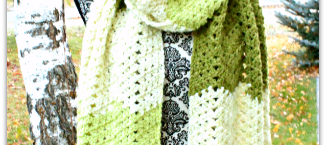 Green Tea Scarf… New Free Crochet Pattern!!