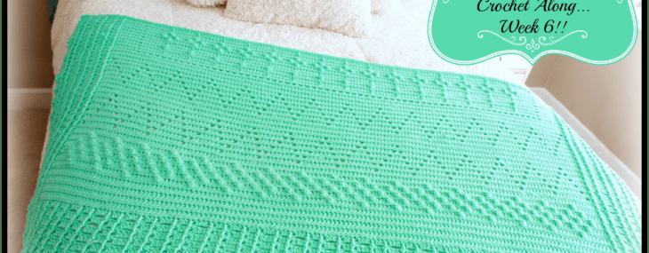 2018 Crochet with Me!! Mystery Afghan CAL… Week 6!!