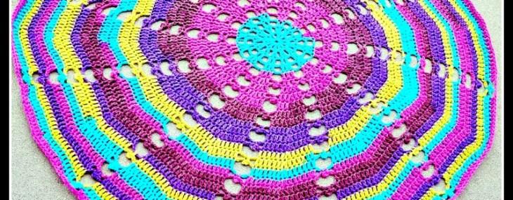 Sugar Wheel Baby Blanket.. Crochet Along Week 4!!