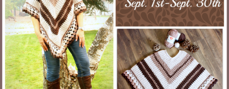Coffee And Cream Poncho Crochet Along… Week 3 Finale and Giveaway!!!