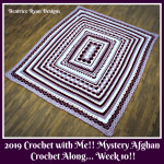 Crochet with Me!! Mystery Afghan Crochet Along… Week 10!!