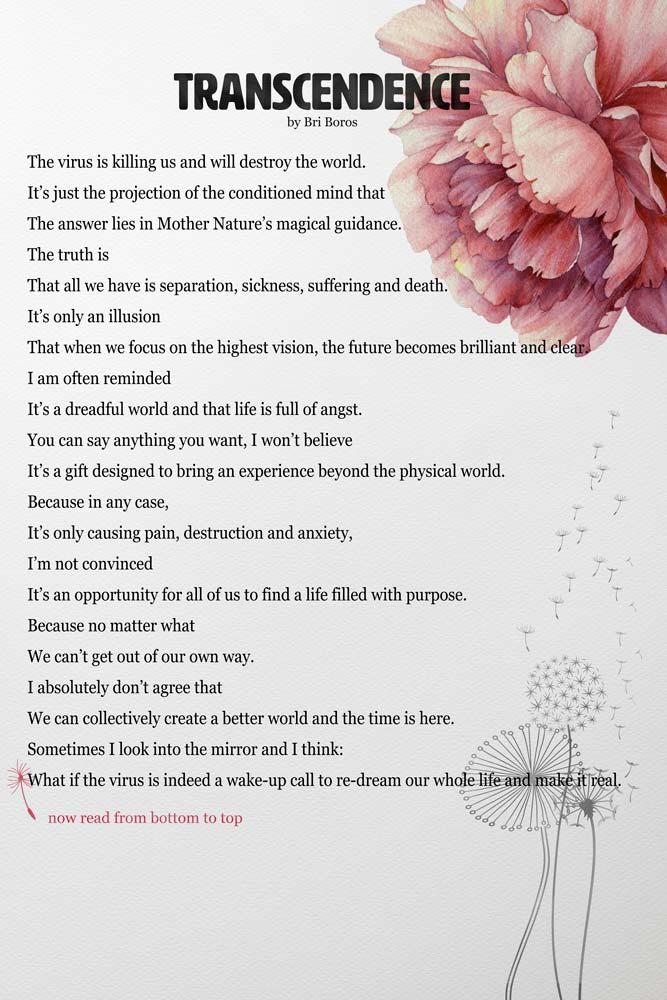 Poem written by Bri Boros