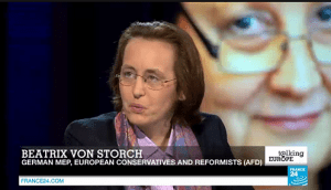 Intervista cum Beatrice von Storch