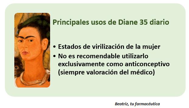 Diane 35 diario, más que un anticonceptivo