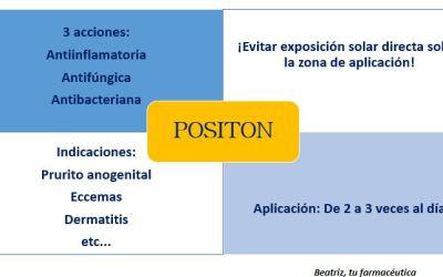¿Para qué sirve positon? ¿Qué diferencia hay entre positon crema y positon ungüento?