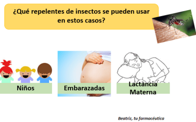 ¿Qué repelente de mosquitos puedo usar si estoy embarazada?, ¿y para un bebé?..