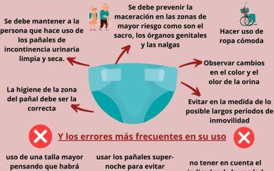 ¿Cómo usar los pañales de incontinencia urinaria?