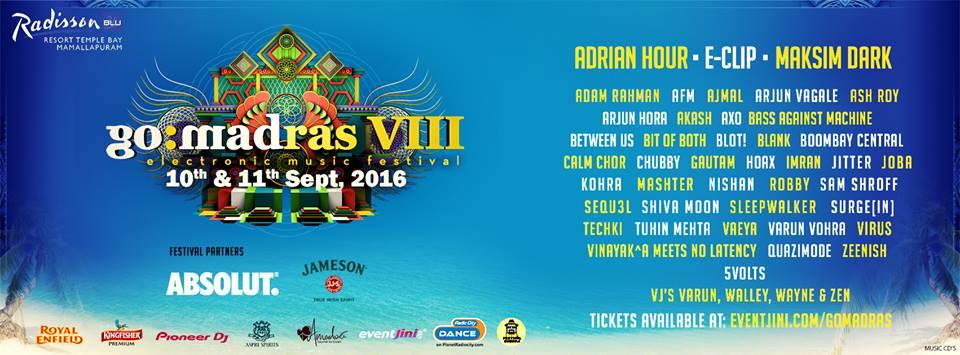 Go Madras festival 2016