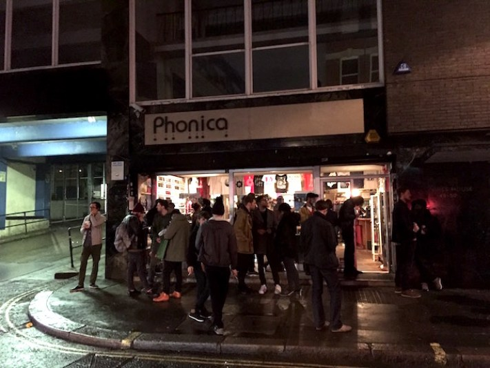 Phonics records from outside