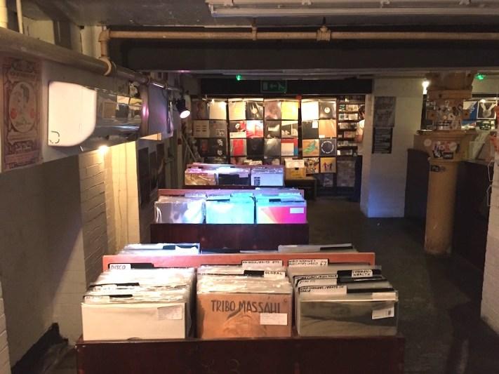 Rye wax record store