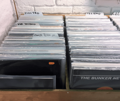 Record stores in London for Techno & House collectors