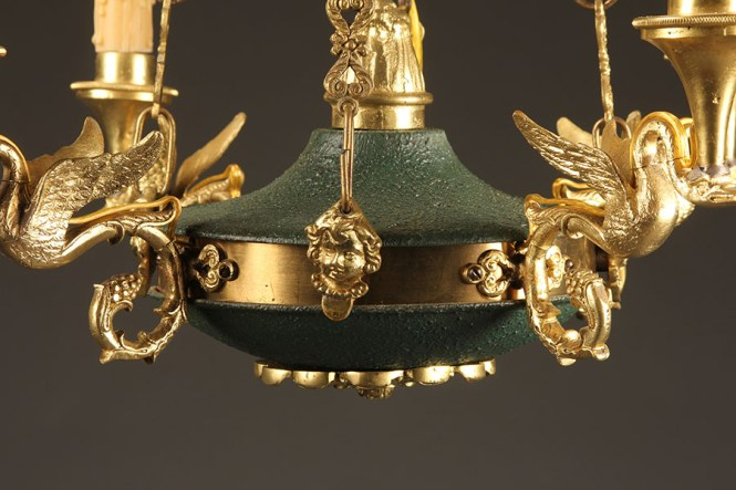 A5405d Antique French Chandelier Empire