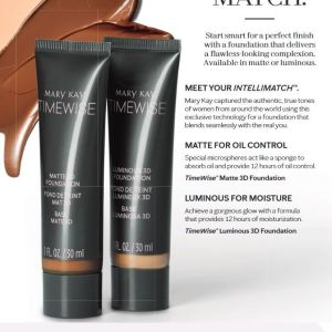 "Mary Kay TimeWise 3Dâ""¢ Foundation Luminous 30ml"