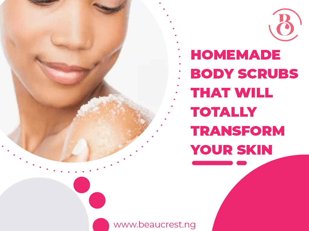 4 Homemade Body Scrubs That Will Totally Transform Your Skin