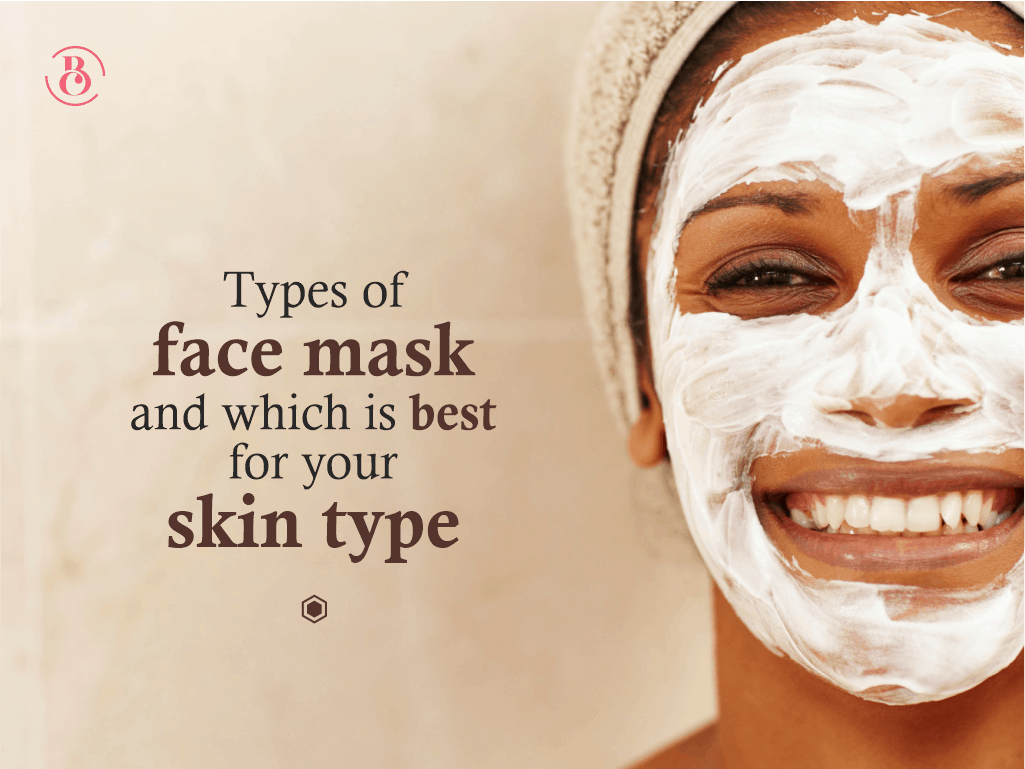 Types of Face masks And Which Is Best for Your Skin Type