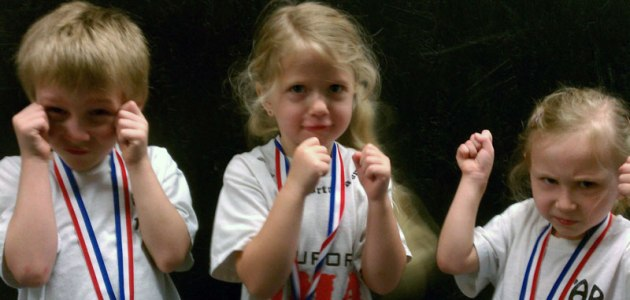 Tiny But Tough Martial Arts