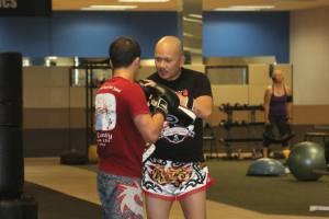 Kru Ronald Teaching Muay Thai
