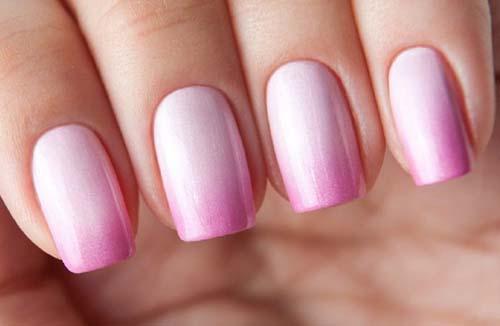 Άσπρα - ροζ νύχια (46)