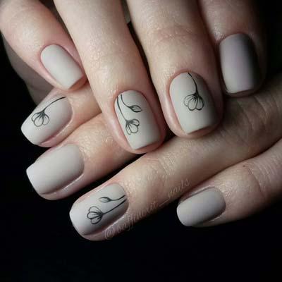 Κομψά και διακριτικά σχέδια για νύχια (10)