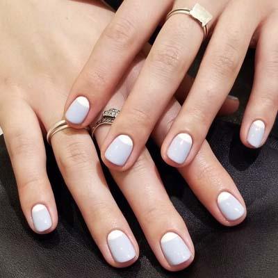 Κομψά και διακριτικά σχέδια για νύχια (15)