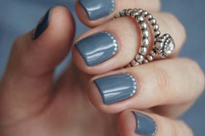 Κομψά και διακριτικά σχέδια για νύχια (20)