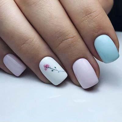 Κομψά και διακριτικά σχέδια για νύχια (21)