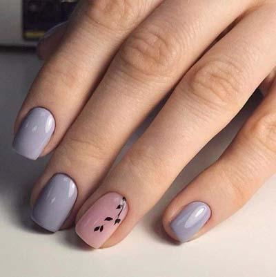Κομψά και διακριτικά σχέδια για νύχια (25)