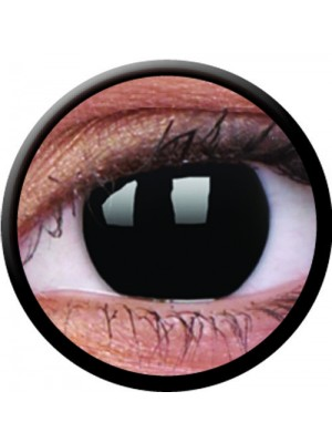 1 Day Use Blackout Coloured Contact Lenses