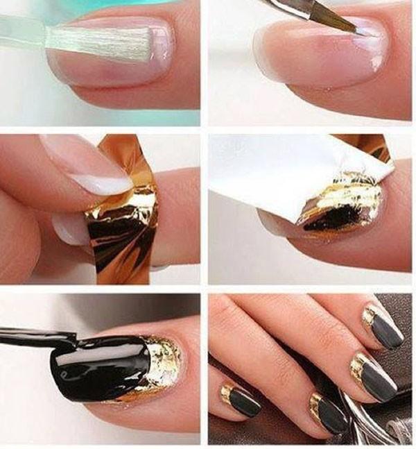 Easy Nail Polish Designs Step By Photo 5