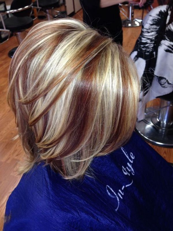 Fall Hair Highlights