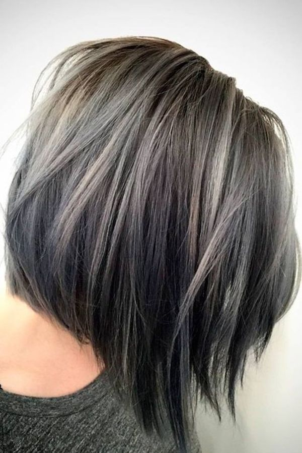 Gray Hair Highlights
