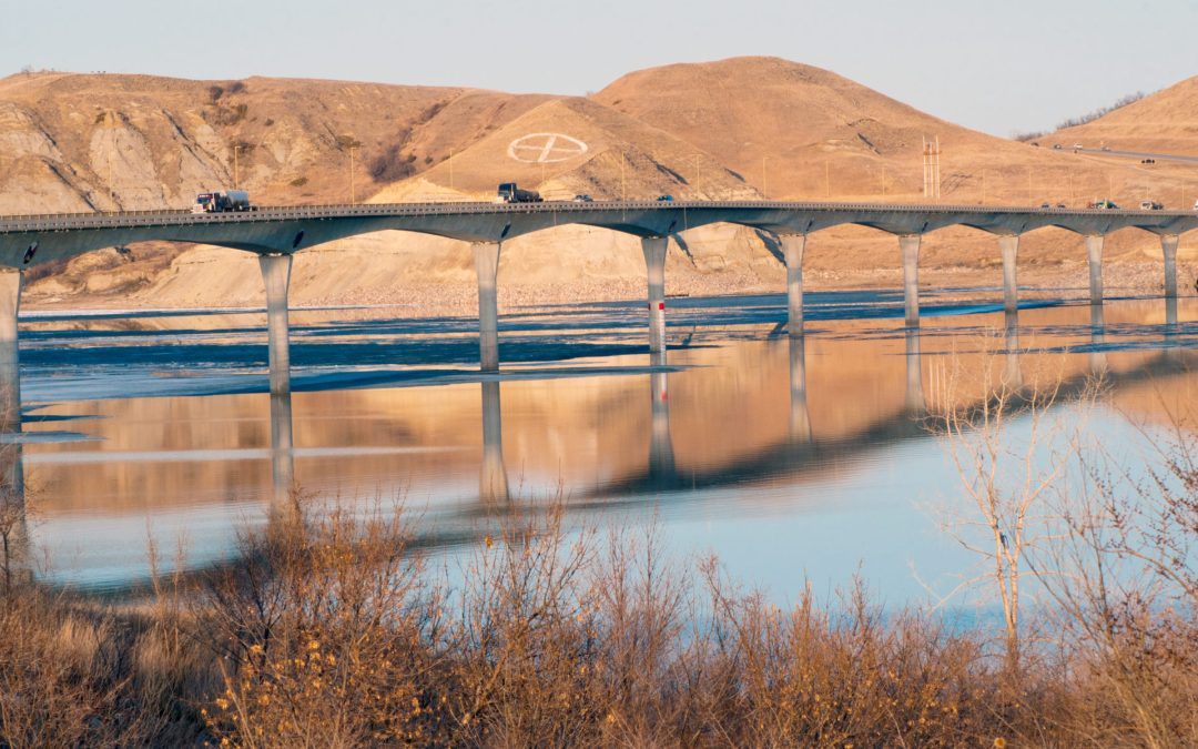 The sensational Four Bears Bridge connects history, cultures and time