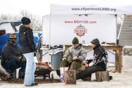 The Poco Rio Frio Badlands Race Riders, hikers, snowshoers and cross country skiers could take a break around a camp fire, get a bite to eat before their next loop on the trail