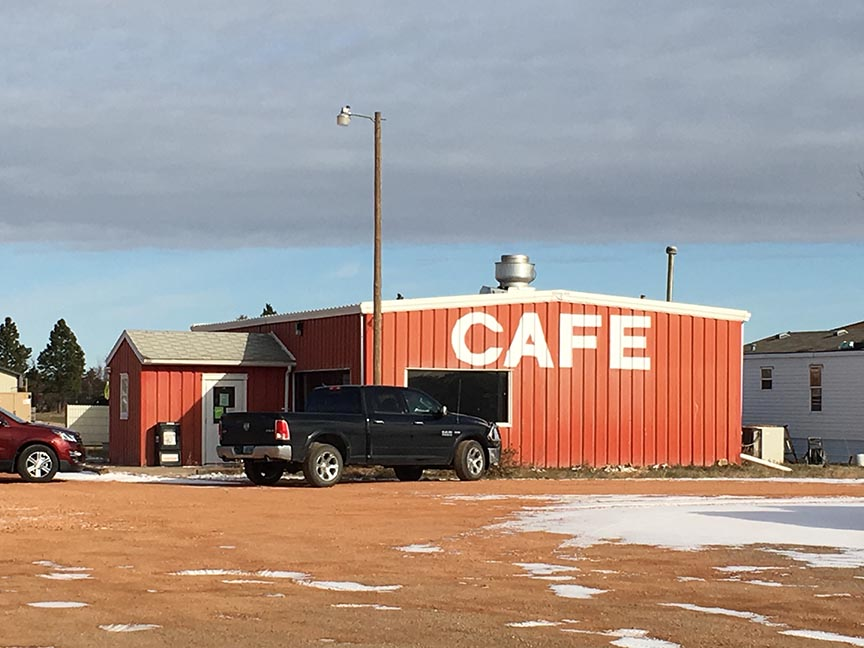 The Four Corners Cafe at Fairfield serves authentic Ukrainian food.