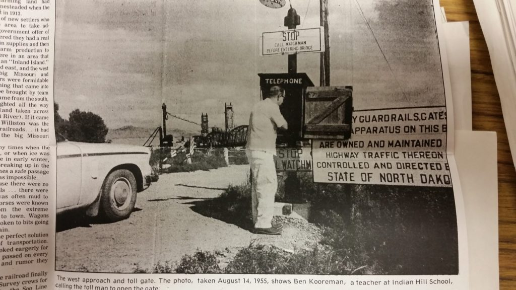 "Back in ""the day,"" The Nohly/Snowden Bridge"