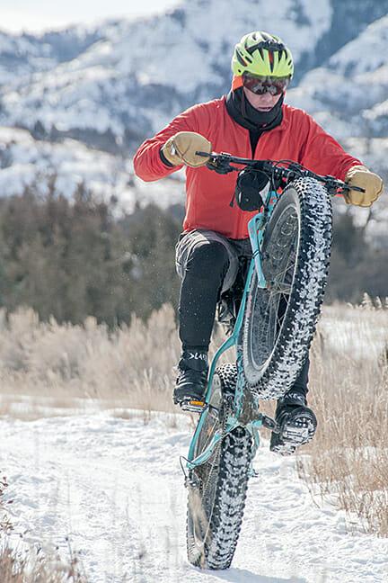 poco rio frio a good ride in the badlands in the snow